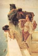 Alma-Tadema, Sir Lawrence A Colen of Vantage (nn03) oil